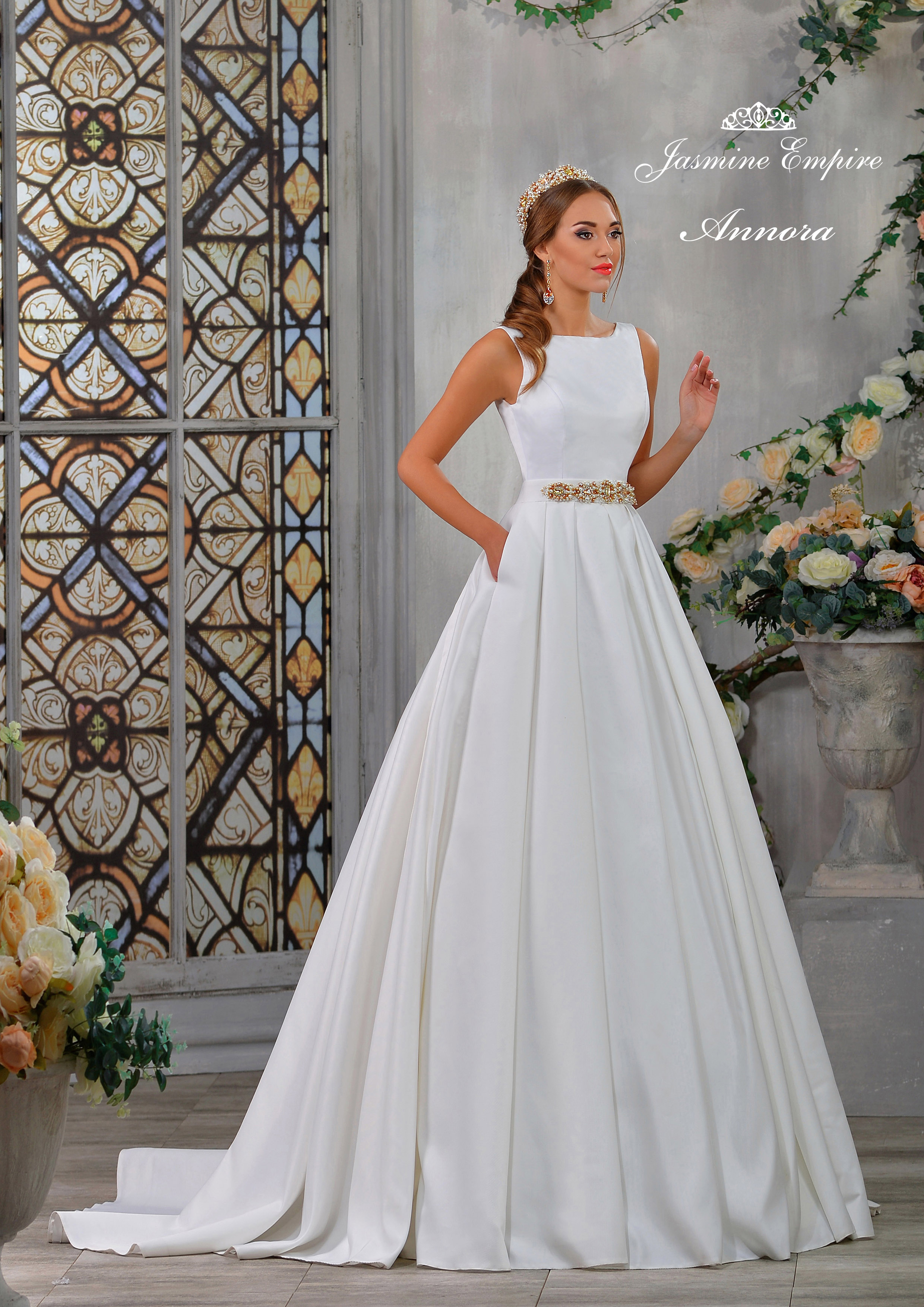 Жасмин платье свадебное платье