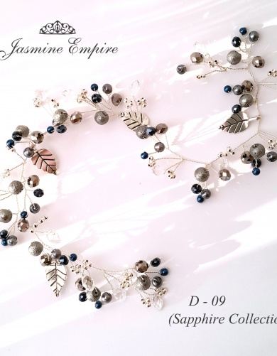Sapphire Collection - wedding accessories by Jasmine Empire
