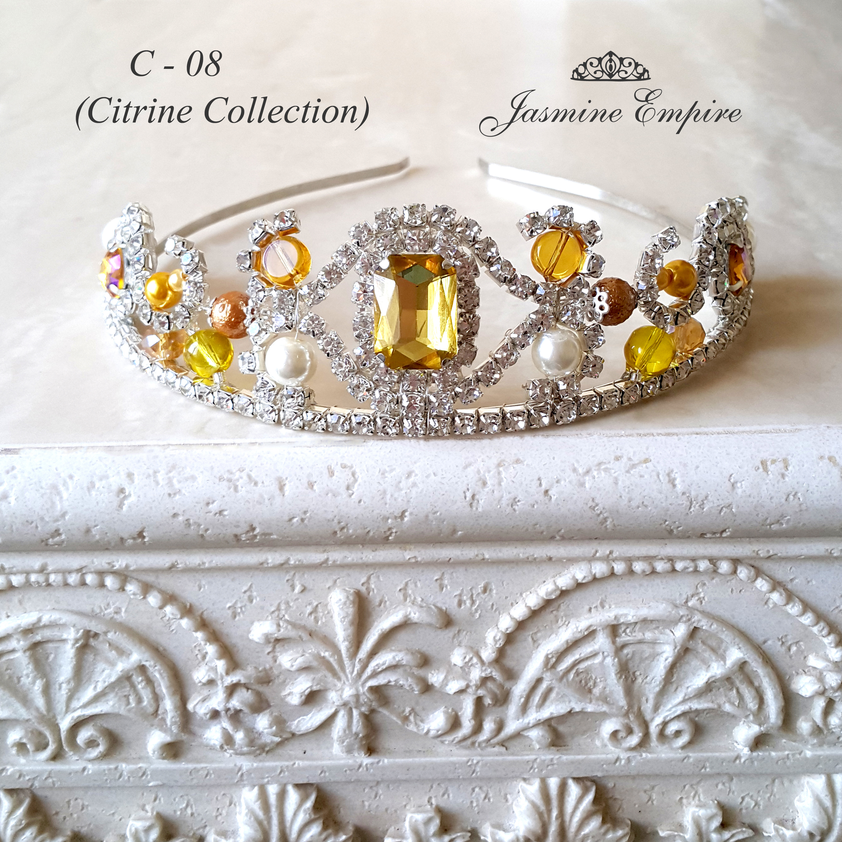 Diadem for the bride Foto 1