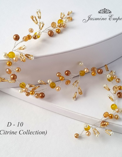 Citrine Collection - wedding accessories by Jasmine Empire