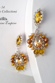 Earrings for the bride Foto