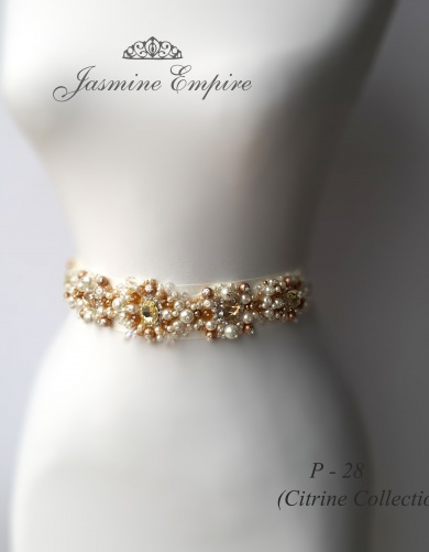 Belt for wedding dress P 28